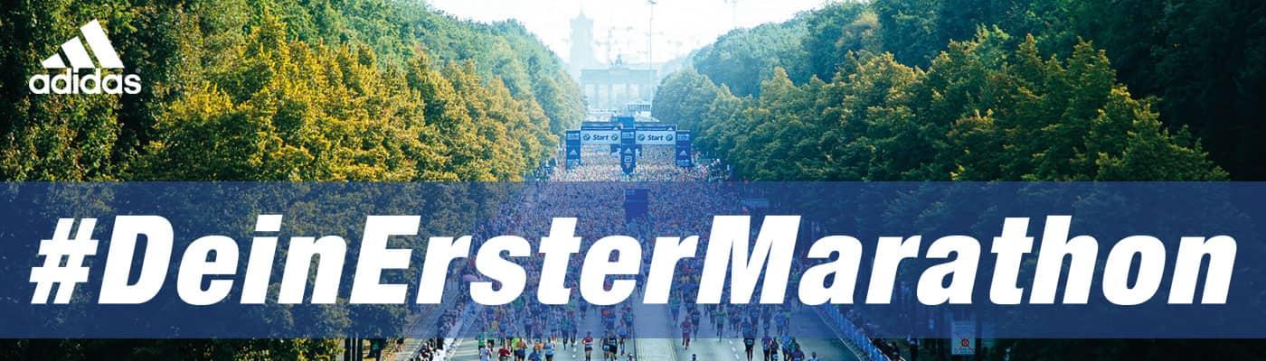 hier:Dein Erster Marathon Banner