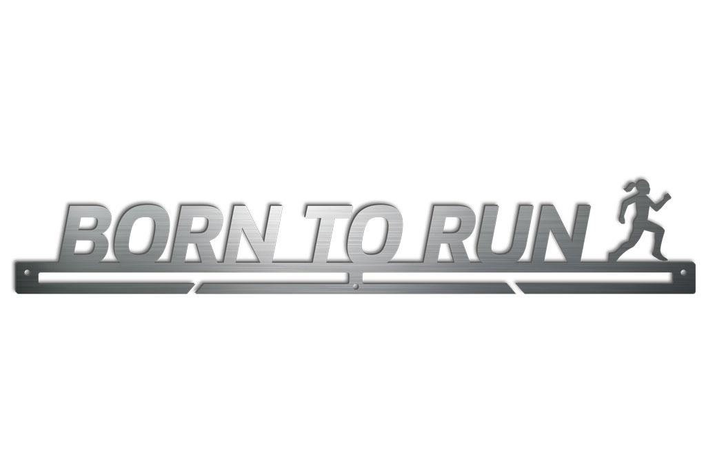 Medalboard Born to run (Frau)