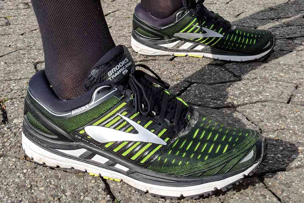hier:Test: BROOKS Transcend 5