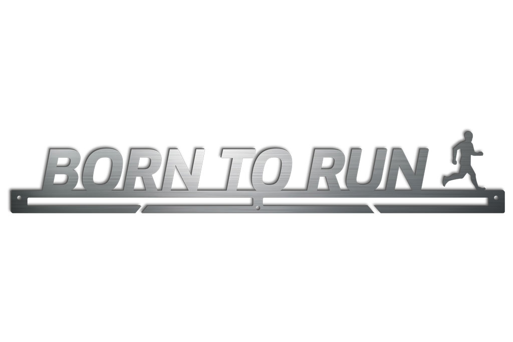 Medalboard Born to run (Mann)