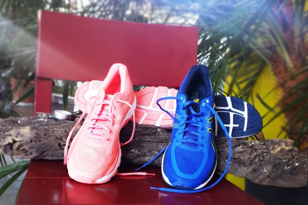 hier:Test: ASICS Pursue 4