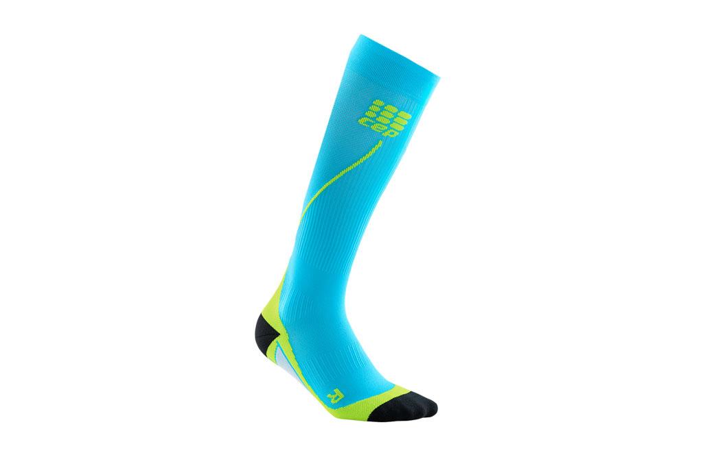 CEP Pro+ Run Socks 2.0 + gratis Shirt blau (Herren)