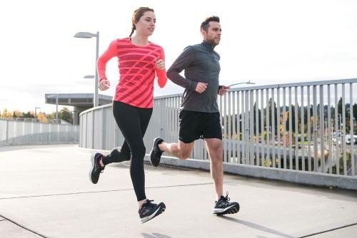 Lauftechnik: Der richtige Fußaufsatz